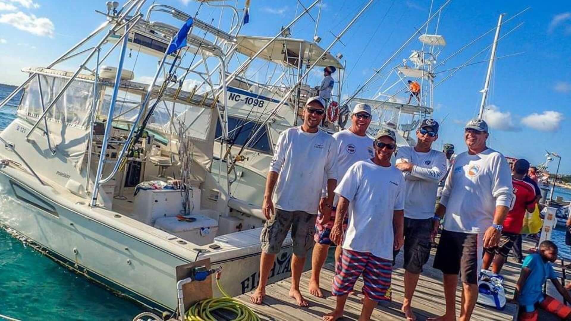 Crew of Fishtales - Big Game Fishing Bonaire